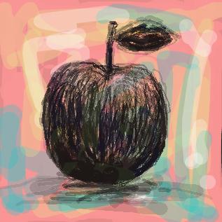 りんごのスクラッチ