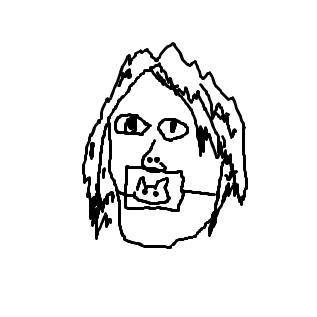 いもこの肖像画。