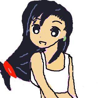 ティファ(そら坊さんの掲示板のナナミさんのお絵カキコ)