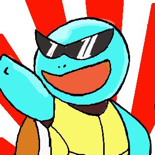 アニメのゼニガメ