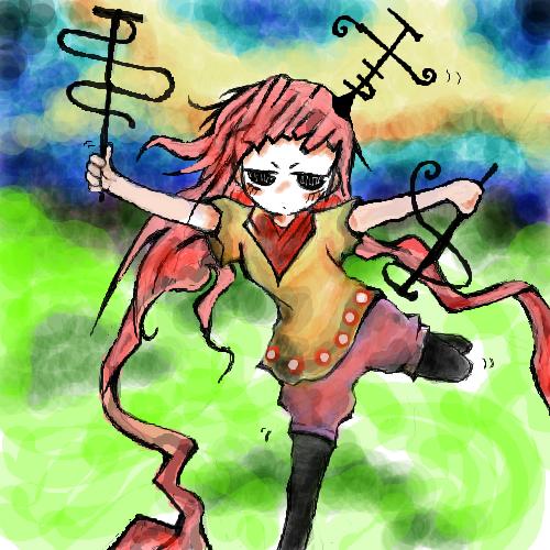 『座布団娘のざぶ子さん』電子さん(でんこさん) by 白のゑ 白のゑ(絵師)#241