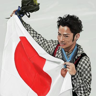 高橋大輔 フィギュア男子初メダル獲得