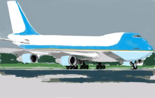 ひとまずVC-25で