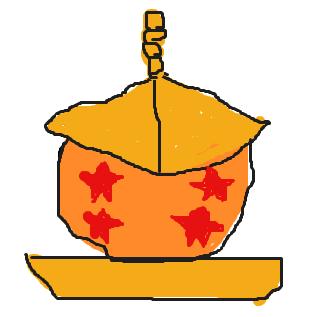 ドラゴンボール+毘沙門天の宝塔(こんなのがあと6個あります)