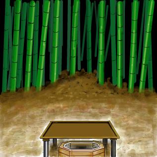 とある竹林