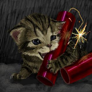 子猫とダイナマイト by ID: lxE+J/P1Nb Rabiスレ#404