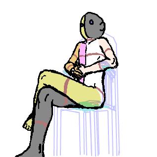 人体の練習