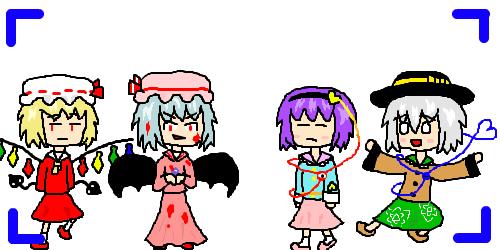 Scarlet Sisters & 古明地姉妹