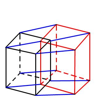 超立方体の投影図です。