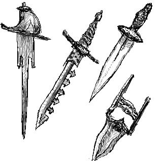 様々な短剣