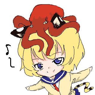 蛸と海女という絵があってだね……