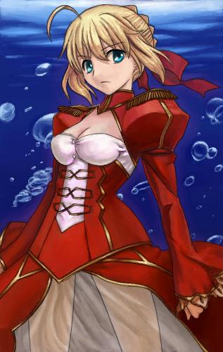 Fate/EXTRAスレ>>67さんの赤セイバー