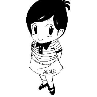 アラレちゃん(没)