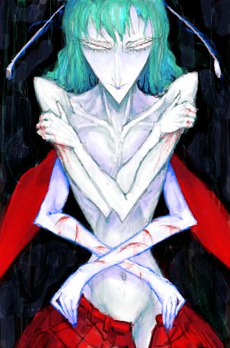お前を抱く手は血まみれだ