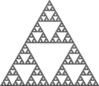 三角形のフラクタル