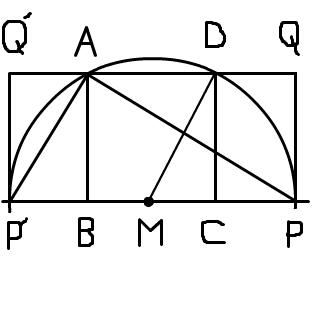 証明のために2点を加えた図です。