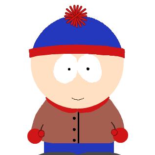 アメリカのアニメ、サウスパークの主人公