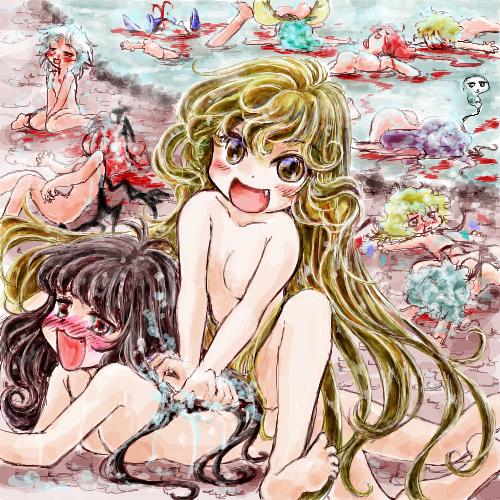 ほんわか温泉(紅魔館壊滅編)_by_ななしー ななしー(絵師)スレ#1549
