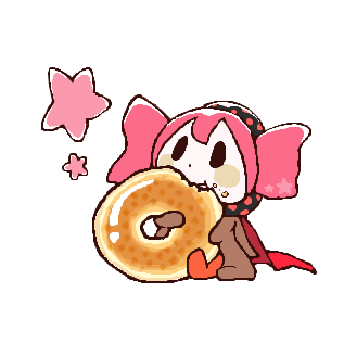 Charlotte_eating_a_Doughnut