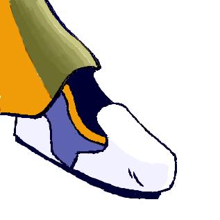 Kaitoの靴