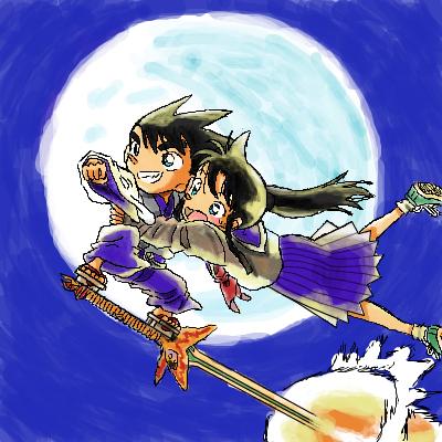 『YAIBA』ヤイバ「ちょっと火星行ってくる!」