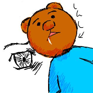くま吉くん 名探偵うさみちゃんシリーズに登場する、変態性欲(Wikipedia)を... クマキ
