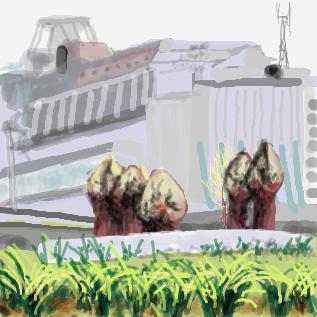 チェルノブイリに生えているといわれている植物 by ぬけみち ぬけみちユーザースレ#9