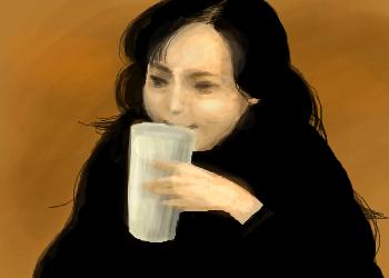 謎の白い液体