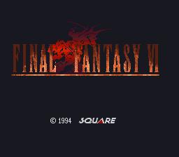FF6タイトル画面