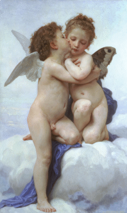 Amor and Psyche(1889)