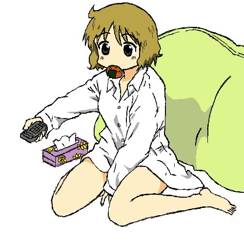 裸ワイシャツ:だらしない恰好 by 高崎学 高崎学スレ#29