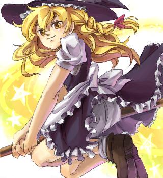 普通の黒魔術少女