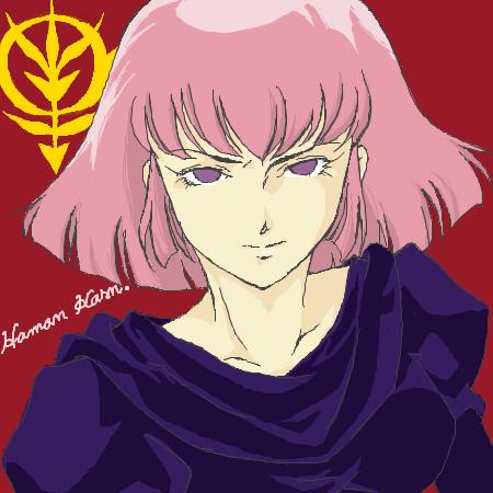 微笑のハマーン・カーン by ID: OzymBiAPc2 ハマーン・カーンスレ#65
