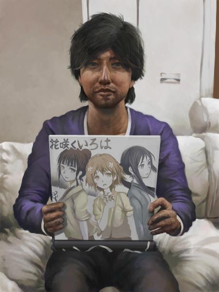 花咲くいろは色紙岸田メル by 岸田メルスレ#155