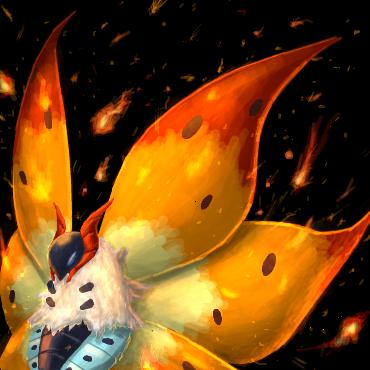 ウルガモスの炎の舞