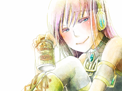 巡音ルカ「ほろ酔いあなたもいかがです?」キリンラガークラシック缶 by まどぎわ まどぎわユーザーページスレ#86