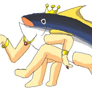 マグロは高級魚なんだぞ