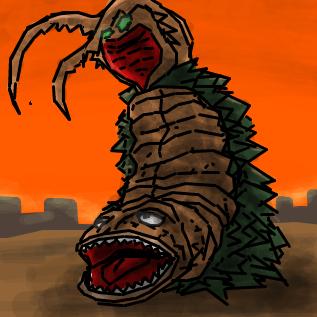 古代怪獣ツインテール by ID: zy9bwRiQg8 らくがきスレ#8242