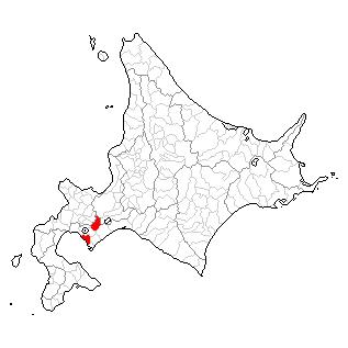 北海道伊達市の位置
