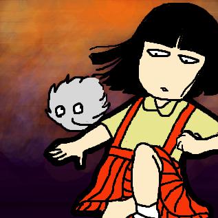 花子さん&ホワホワ