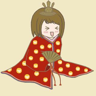 きなっちゃん(十二単ver.)