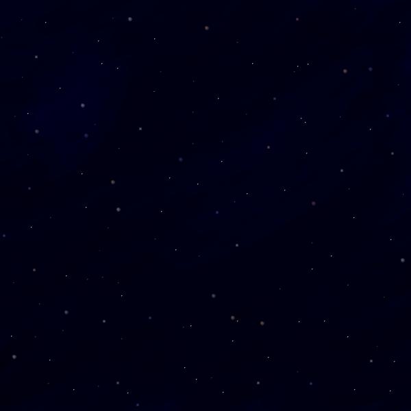 宇宙 - 全体暗め