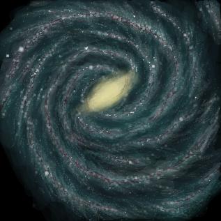 銀河系想像図