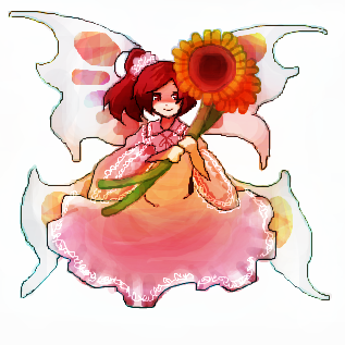 ひまわり妖精さん