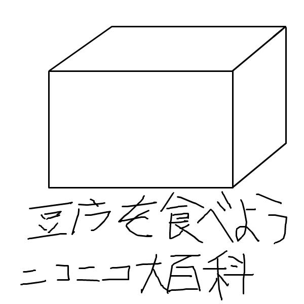 ニコニコ大百科で豆腐を食べよう