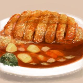 カツカレー by kichi kichiユーザースレ#136