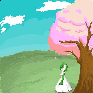 サーナイトと桜