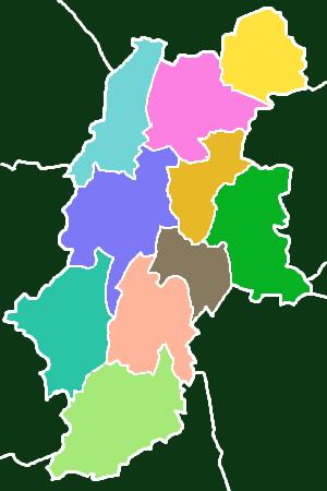 長野県の10広域