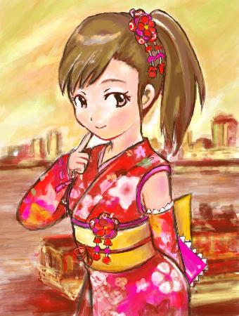 フルブルーム浴衣ドレス 双海真美 by Sakazuki 双海真美スレ#69