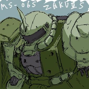 戦いに疲れた隊長機